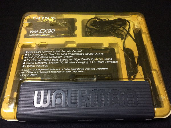 SONY カセットウォークマン WM-EX90 2