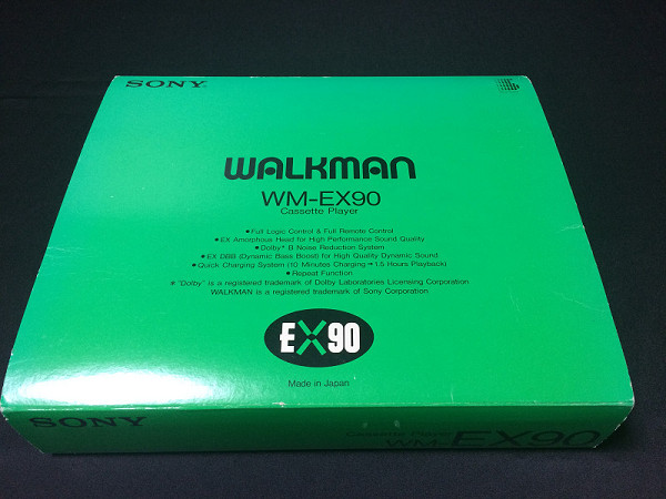 SONY カセットウォークマン WM-EX90  1