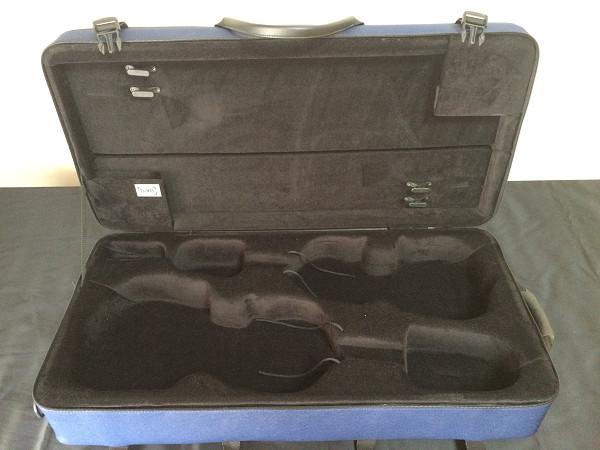 フランスBAM製 バイオリンとビオラのコンビケース/ダブルケース