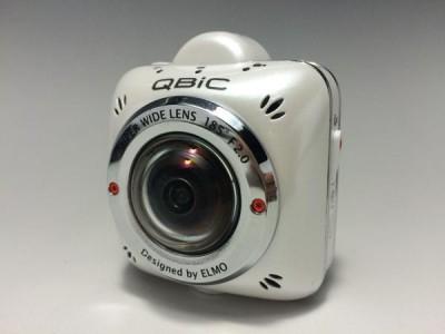 ELMO QBiC MS-1 コンパクト超広角ビデオカメラ ☆オマケあり