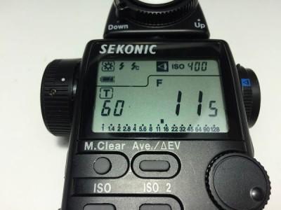 SEKONIC セコニック L-508 ZOOM MASTER 露出計 ケース付 2s
