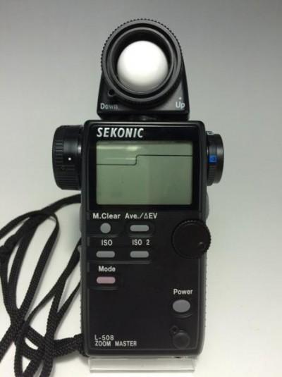 SEKONIC セコニック L-508 ZOOM MASTER 露出計 ケース付 1