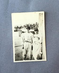 大日本東京野球倶楽部 沢村栄治 生写真 戦前