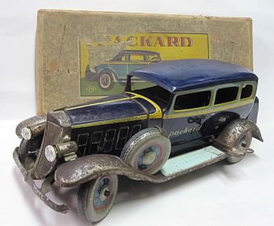 ブリキのおもちゃ 車 パッカード アメ車 戦前の物