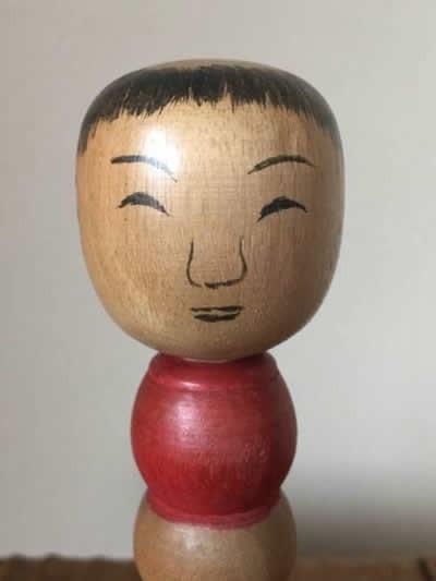伝統こけし 戦前 古品 小椋千代五郎