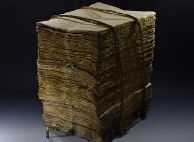 戦前 大量 古い 手漉き 和紙 43cm×32cm 古民具 書画 書道 半紙 古い 手すき